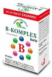 HerbVitea B-KOMPLEX forte tbl