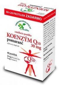 HerbVitea KOENZÝM Q10 30 mg cmúľacie pastilky pomarančová aróma