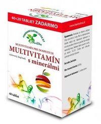 HerbVitea MULTIVITAMÍN s minerálmi tbl