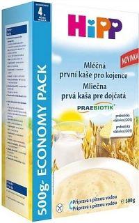 HiPP Kaša PRAEBIOTIK Prvá KAŠA pre dojčatá mliečno-obilná Economy pack 1x500 g