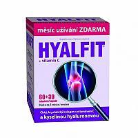 HYALFIT + vitamín C cps 60+30 zadarmo