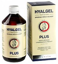 HYALGEL PLUS POMARANČ sir 1x500 ml