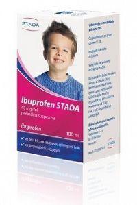 Ibuprofen STADA 40 mg/ml perorálna suspenzia sus por 1x100 ml