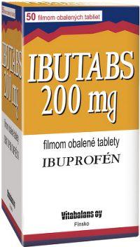 IBUTABS 200 mg tbl flm 1x50 ks