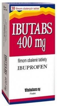 IBUTABS 400 mg tbl flm 1x30 ks