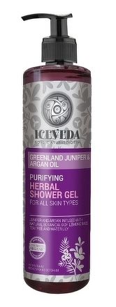 ICEVEDA Očisťujúci bylinný sprchový gél