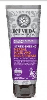 ICEVEDA Spevňujúci bylinný krém na ruky a nechty