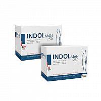 INDOL MAN 250 AKCIA cps120+60 zadarmo 1x1 set