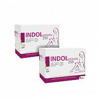 INDOL WOMAN 250 AKCIA cps120+60 zadarmo 1x1 set