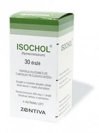 ISOCHOL tbl obd 400 mg 1x30 ks