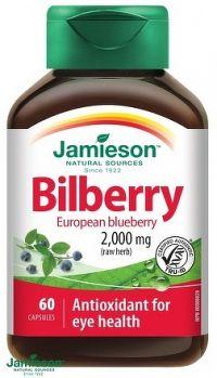 J - Bilberry 2500mg 60tbl.