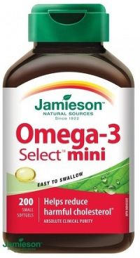 J - Omega-3 Select Mini žel. kaps. 200tbl.