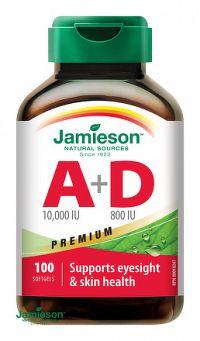 J - Vitamín A&D Forte 100cps.