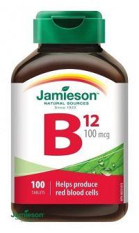 J - Vitamín B12 100mcg 100tbl.