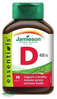 J - Vitamín D3 400 IU 90tbl