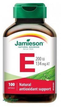J - Vitamín E 200IU 100cps