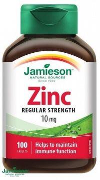 J - Zinc 10mg 100tbl.