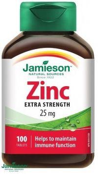 J - Zinc 25mg 100tbl.