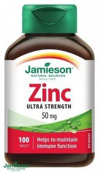 J - Zinc 50mg 100tbl.