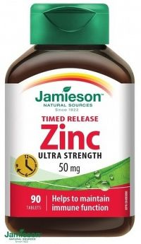 J - Zinc 50mg 90tbl. predĺžený účinok