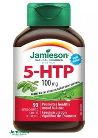 Jamieson 5-HTP 100mg antistresová formula 90tbl.