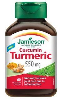 Jamieson Curcumin Turmeric 550mg 60cps.