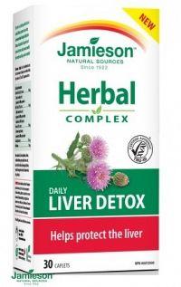 Jamieson Liver Detox Herbal komplex 30 tabl.