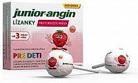 Junior-angin lízanky pre deti s jahodovou príchuťou 1x8 ks