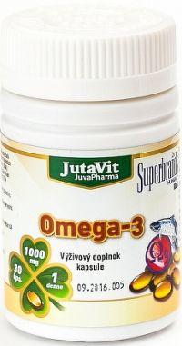 JutaVit Omega-3 cps 1x30 ks