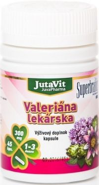 JutaVit Valeriána lekárska cps 1x45 ks