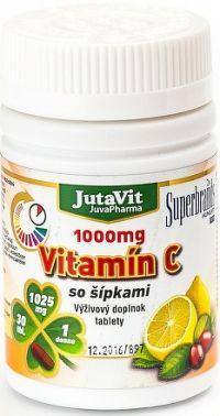JutaVit Vitamín C 1000 mg so šípkami tbl 1x30 ks