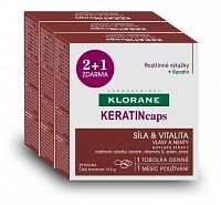 KLORANE KERATINcapscps 3x30(90 ks) 1x1 set