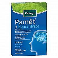 Kneipp® Pamäť + Koncentrácia 30kps. 30 kapsúl