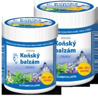 KONSKÝ BALZAM SWISS chladivý500+50 ml zadarmo