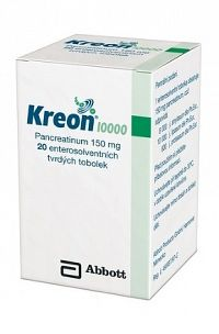 Kreon 10 000 cps end 150 mg 1x50 ks
