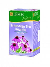 LEROS NATUR ECHINACEA TEA IMUNITA bylinný čaj 20x2 g