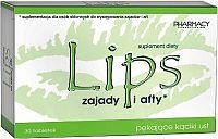 LIPS tablety kutiky a afty tbl 1x30 ks