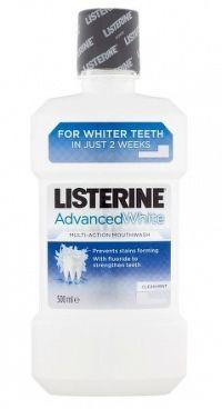 LISTERINE ADVANCED WHITE ústna voda 1x500 ml