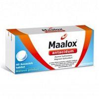 Maalox tbl mnd 1x40 ks