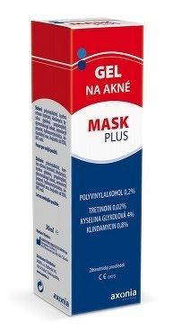MASK PLUS gél na akné 1x30 ml