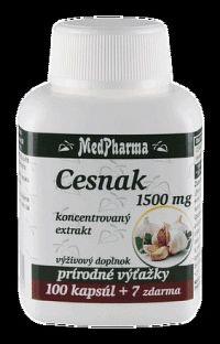 MedPharma CESNAK 1500 mg cps 100+7 zadarmo
