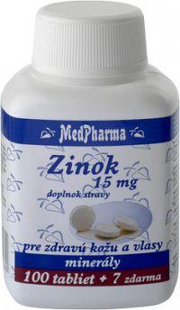 MedPharma ZINOK 15 MG tbl 100+7 zadarmo