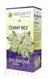 MEGAFYT Bylinková lekáreň BAZA ČIERNA bylinný čaj 20x1 5 g
