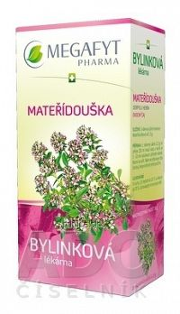 MEGAFYT Bylinková lekáreň MATERINA DÚŠKA bylinný čaj 20x1 5 g
