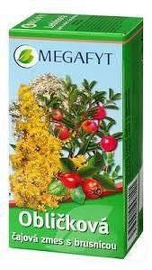 MEGAFYT Bylinková lekáreň OBLIČKY S BRUSNICOU čajová zmes10% brusnicovej šťavy 20x1 5 g