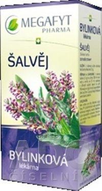 MEGAFYT Bylinková lekáreň ŠALVIA bylinný čaj 20x1 5 g