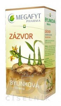 MEGAFYT Bylinková lekáreň ZÁZVOR bylinný čaj 20x1 5 g