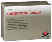 MILGAMMA tbl obd 50 mg/250 µg 1x100 ks