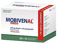 MOBIVENAL micro tbl flm 60+10 zadarmo