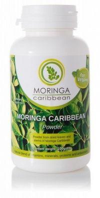 Moringa Caribbean prášok 100g
